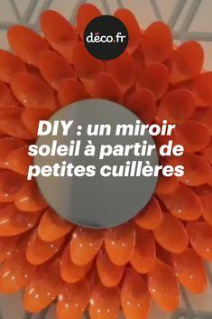 Dans ce tuto vidéo réalisé par Tom, nous vous proposons d'ensoleiller votre déco avec un miroir soleil que vous allez créer entièrement et de vos propres mains, de A à Z. Inspiré du style rocaille, il s'habille de pétales orangés qui réveillent votre déco en un clin d'oeil. A accrocher seul ou à associer dans une composition de cadres, c'est vous qui voyez ! Composition, Diy, Sun Mirror, Rock Shower, Frames, Hands, Bricolage, Do It Yourself, Being A Writer