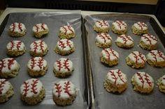 Baseball rice krispies