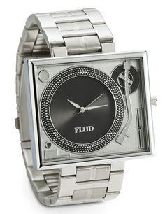 If you'll never get over vinyl, this is the watch for you!