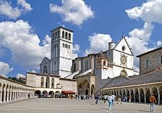 Basilica of St. Frances in Assisi.  A beautiful, peaceful place!
