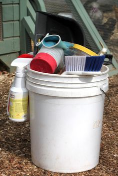 Tilly's Nest: How To Clean the Chicken Coop