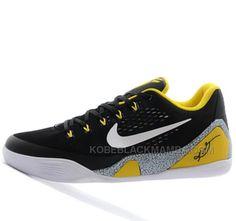 nike kobe 9 black yellow