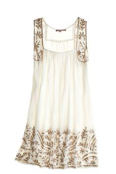 Velma Cotton Sequin Dress::DRESSES::CLOTHING::Calypso St. Barth