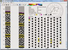 JPo-13 around -zebra-3czlony (see coordinating round bead pattern)