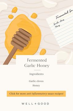 garlic honey Easy Sauce Recipe, Sauce Recipes, Fermented Honey, Picky Eaters, Meal Prep, Garlic, Healthy Recipes, Snacks, Food
