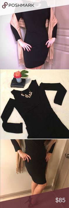 laundry by Shelli Segal Cold Shoulder Black Dress Perfect Little Black Dress in like new condition. Laundry by Shelli Segal Dresses