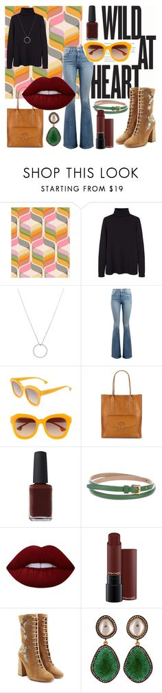 """If I'm free, it's because I'm always running"" by pandaleka on Polyvore featuring MANGO, Roberto Coin, Frame, Alice + Olivia, Frye, Kester Black, Burberry, Lime Crime, MAC Cosmetics and RED Valentino"