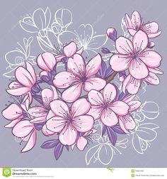flor-de-cerezo-30961480.jpg (1300×1390)