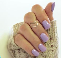 Knuckle Ring Set of 2, Chevron Above the Knuckle Rings, Midi Stacking Dainty Rings Silver or Gold Rings
