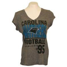 Carolina Panthers Women s Fashion NFL T-Shirt caef6902a