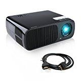 Projector | Crenova XPE600 LED Projector 2600 Lumens 800*480 Resolution for 1080P HD Multi-Media Cinema Home Theater Support PC Laptop iPad Smartphone USB Drive Keystone Correction Bonus Free HDMI Cable - Black by Crenova®  (147)Buy new:  £126.00  £111.00 5 used & new from £95.26(Visit the Bestsellers in Electronics list for authoritative information on this product's current rank.) Amazon.co.uk: Bestsellers in Electronics...