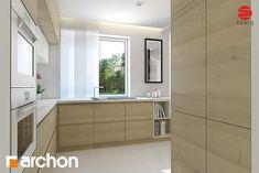 Projekt domu Dom w awokado (GP) Galeria - ARCHON+ Alcove, Kitchen Cabinets, Bathtub, Bathroom, House, Home Decor, Standing Bath, Washroom, Bathtubs