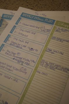 Check out Sara's Binder - Nest Your Best: Home Binder - Part III - Meal Planning
