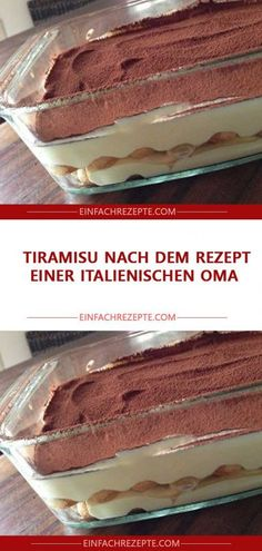 Tiramisu nach dem Rezept einer italienischen Oma 😍 😍 😍 Tiramisu after the recipe of an Italian grandma 😍 😍 😍 Nutella, Cupcake Recipes, Dessert Recipes, Drink Recipes, Coffee Dessert, Tiramisu Dessert, Coffee Cake, Dessert Sauces, Food Cakes