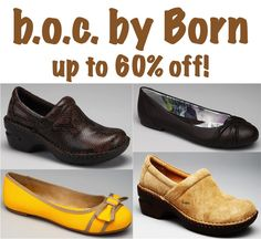 b.o.c. by Born for Women ~ up to 60% off!  Would these work for Camille? @Lisa Phillips-Barton Phillips-Barton Larson