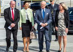 MyRoyals:  Crown Princess Victoria and King Carl Gustaf attended a seminar on 50 Years of Swedish Fresh Water Monitoring, Swedish University of Agricultural Science, Uppsala, May 11, 2015