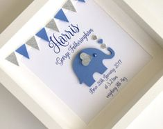 Baby boy gift personalised baby gift new baby gift by NamedFramed