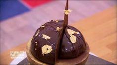 La sphère en chocolat de Frédéric Bau une recette de Le meilleur pâtissier l'émission sur M6