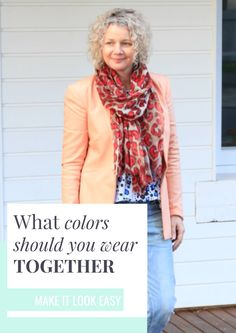 Do you struggle with which colors you should be wearing together? Don't worry! We have you covered. We will show you exactly what colors work well together and which ones you should avoid wearing together. Make sure you save these outfit tips to your board so you can find them.