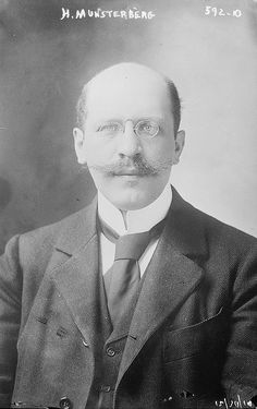 "Hugo Munsterberg: Pioneering figure within forensic psychology. Published his seminal work ""On The Witness Stand: Essays on Psychology & Crime"" in 1908."