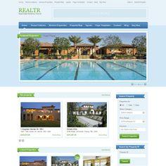 Realtr Real Estate WordPress Theme | WordPress Theme Download