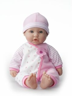"Amazon.com: JC Toys 16"" La Baby Doll: Toys & Games"