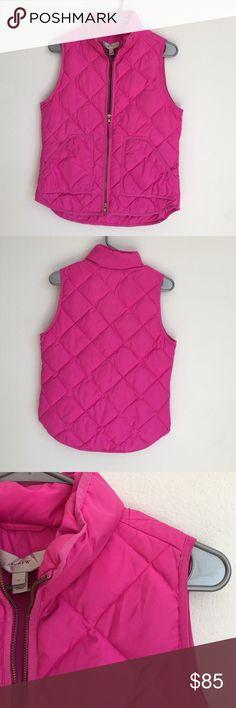 J. Crew quilt vest J. Crew quilt vest. Classic fall/winter piece J. Crew Jackets & Coats Vests