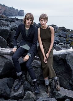 shore leave: karlie kloss and dylan brosnan by camilla nickerson for us vogue november 2015 | visual optimism; fashion editorials, shows, campaigns & more!