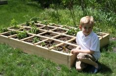 Square Foot Garden by jackie