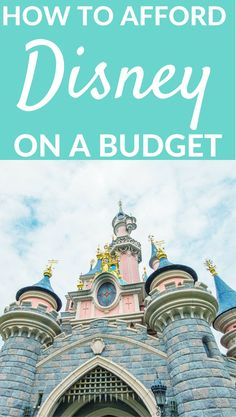 Disney doesn't have to cost a fortune! Here's how to save money on your Disney vacation.