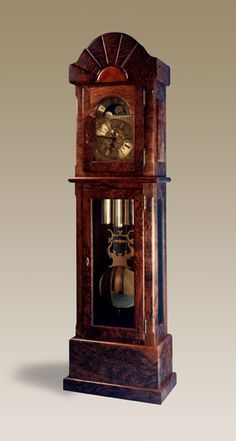 Awesome Grandfather clock. Black walnut. Mmmmmm