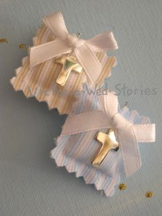 Christening Party, Communion, Party Favors, Diy And Crafts, Projects To Try, Bloom, Gift Wrapping, Baby Shower, Candles