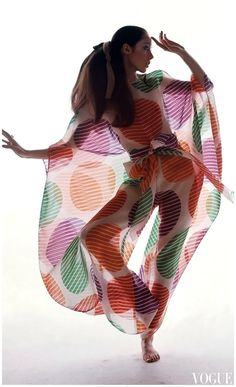 Moyra Swan Photo Bert Stern, Vogue, March 1969