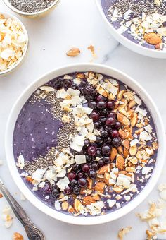 Fun And Healthy Smoothie Bowls, blueberry