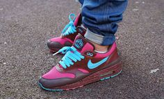 """Great speckled sole Nike Air Max 1 """"Amsterdam"""" #sneakers"""