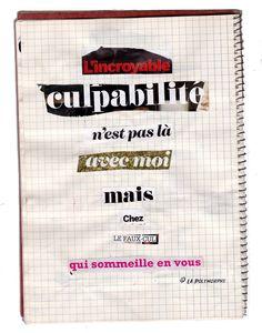 Culpabilité /// La Polymorphe