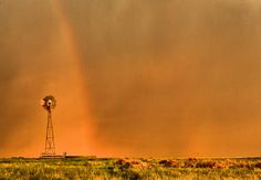 Rainbow and the Windmill - photograph by Steven Reed. Fine art prints and posters for sale. #rainbowphotograph #windmillphotography #stevenreed