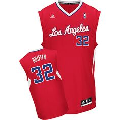 Blake Griffin Adidas Los Angeles Clippers Replica Red Youth Jersey Blake  Griffin Jersey 0bd6ca4b1