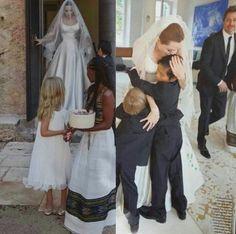 Brad and Angelina wedding
