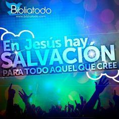 En Jesús hay salvación para tu vida