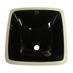 Fauceture LB18188K Vista Undermount Bathroom Sink, Black - Price: $249.95 & FREE Shipping over $99
