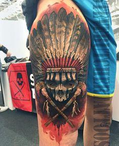native american tattoos - Google Search