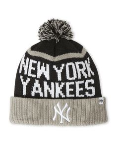 '47 Brand New York Yankees Pom-Pom Linesman Knit
