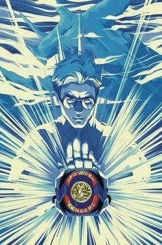 Power Rangers Fan Art, Power Rangers Comic, Mighty Morphin Power Rangers, Comic Books Art, Comic Art, Power Ragers, Gurren Laggan, Green Ranger, Graphic Novels