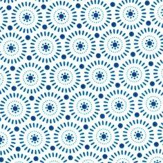 Sunwheel bleu ciel - Tilda