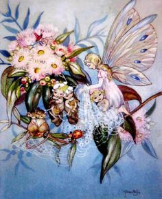 Fairy and her baby by Peg Maltby