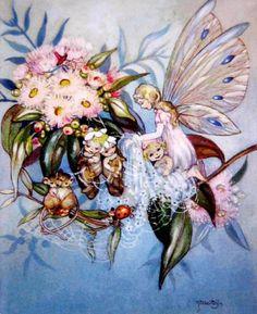 Fairy and Bush Babies❤•♥.•:*´¨`*:•♥•❤Peg Maltby