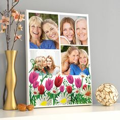 Annelere Özel Fotoblog Kanvas Tablo
