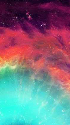 Eye Of God Colorful Nebula Detail #iPhone #6 #wallpaper