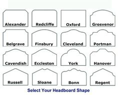 Headboard - Designer Shapes or Your Design
